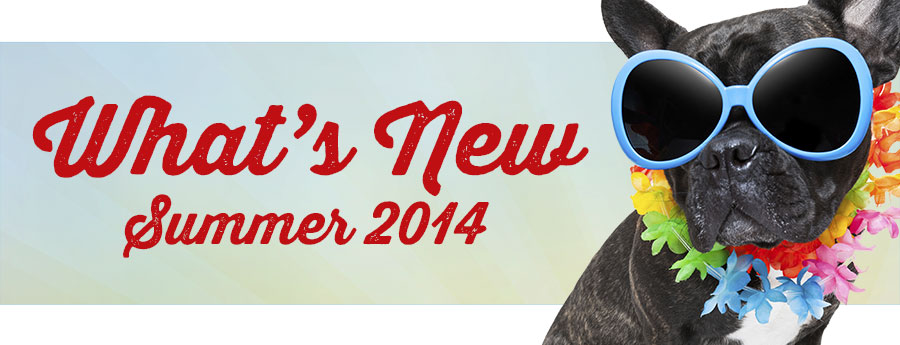 What's New Summer 2014 - Hot summer trends for cool pets