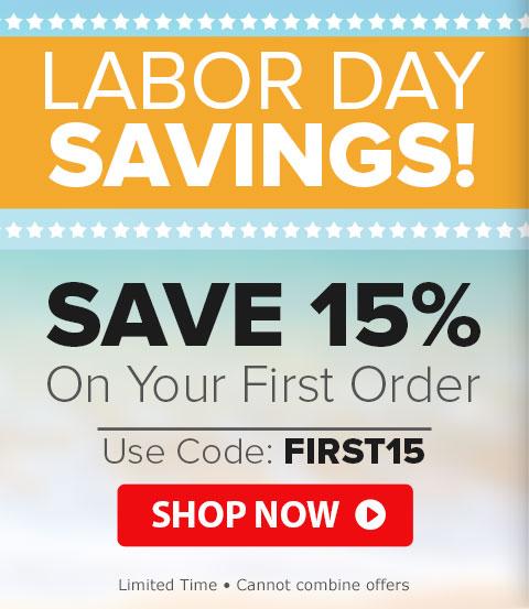 Labor Day Savings Code