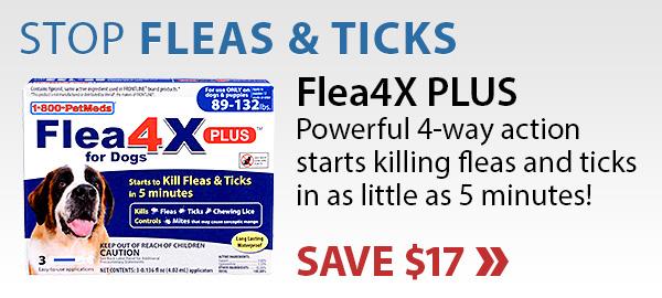 Save on Flea4X PLUS