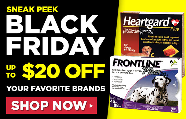 Sneak Peek Black Friday! Up to $20 OFF your favorite brands!