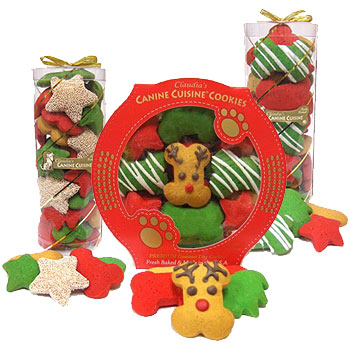 Claudia's Canine Cuisine Holiday Cookies & Treats