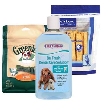 Keep your pet's teeth clean & mouth healthy