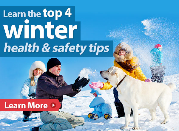 Learn the top 4 winter health & safety tips