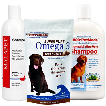 Keep your pet's skin & coat healthy