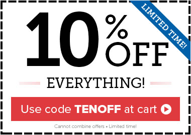 10% OFF Everything! Use code: TENOFF
