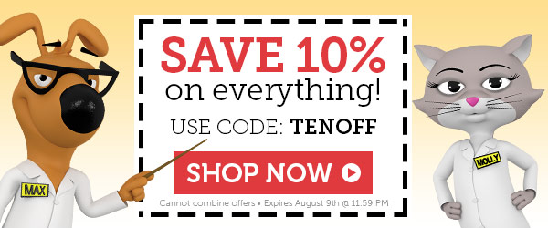 Save 10% OFF on everything! Use code: TENOFF