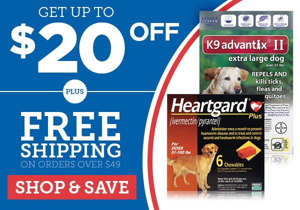 Save up to $20 OFF + fast FREE Shipping over $49