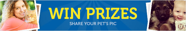 Win Prizes with Your Pet Pics!