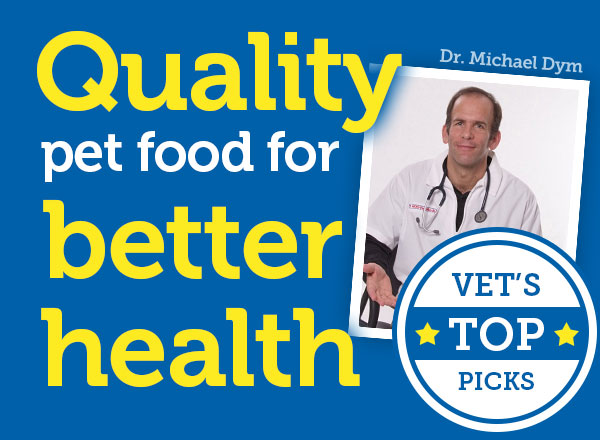 Quality pet food for better health