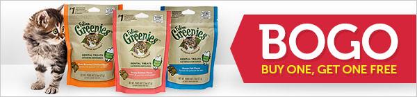Feline Greenies Dental Treats Buy 1 Get 1 FREE