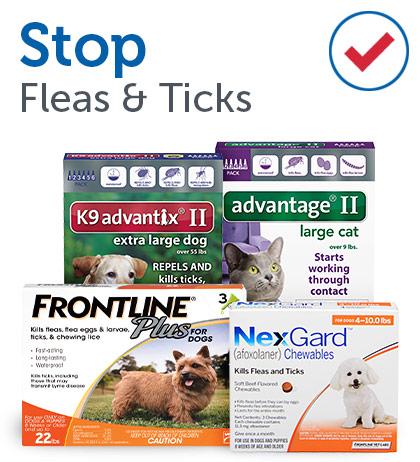 Stop Fleas & Ticks