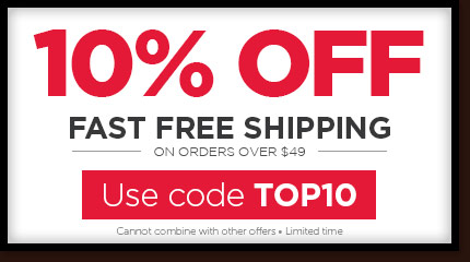 10% OFF - Use code TOP10