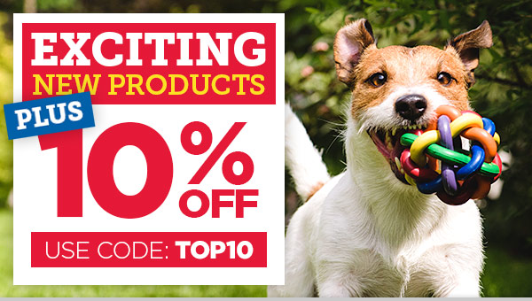 NEW Exciting Products + 10% OFF