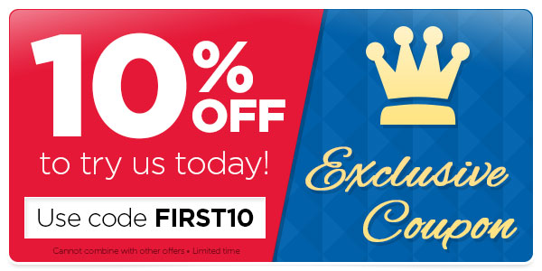 Use your 10% OFF exclusive coupon before it expires!