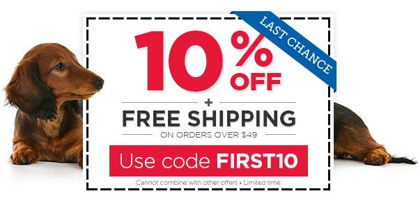 EXTENDED: 10% OFF + FREE Shipping on orders $49+