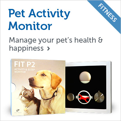 Fit P2 Pet Activity Monitor
