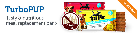 TurboPUP - Tasty & nutritious meal replacement bar