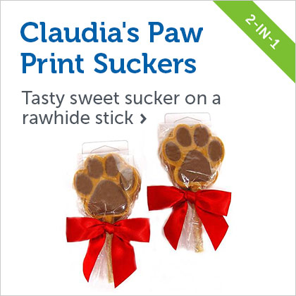 Claudia's Paw Print Suckers