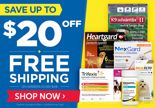 Save up to $20 OFF + FREE Shipping!