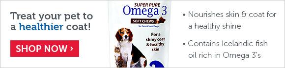 Treat your pet to a healthier coat!