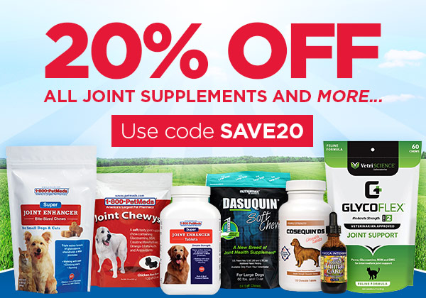 20% OFF all joint supplements and more...