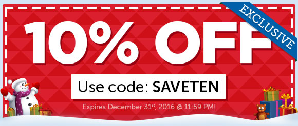 EXCLUSIVE: 10% OFF COUPON