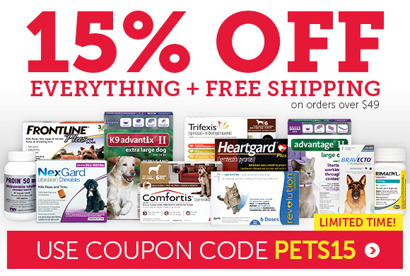 Save 15% OFF on EVERYTHING + FREE Shipping