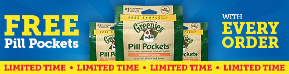 FREE Pill Pockets with EVERY order!