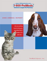 2008 PetMeds Annual Report