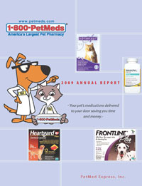 2009 PetMeds Annual Report