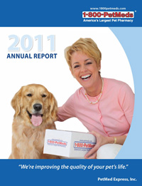 2011 PetMeds Annual Report