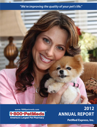 2012 PetMeds Annual Report