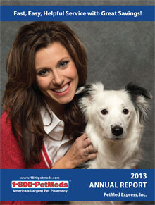 2013 PetMeds Annual Report