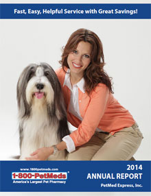 2014 PetMeds Annual Report