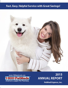 2015 PetMeds Annual Report