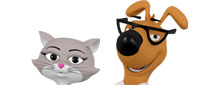 Max and Molly - 1800PetMeds mascots