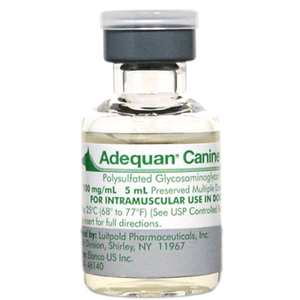 Adequan for Dogs 100 mg/ml 2 x 5 ml Vials
