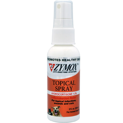 Zymox Topical with Hydrocortisone Spray 2 oz Thumbnail Image 1