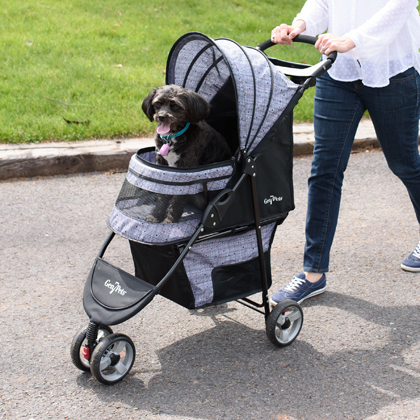 Gen7Pets Regal Plus Pet Stroller Raspberry Sorbet Thumbnail Image 1