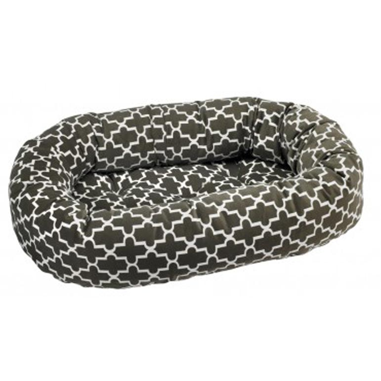 Donut Bed Medium Graphic Lattice