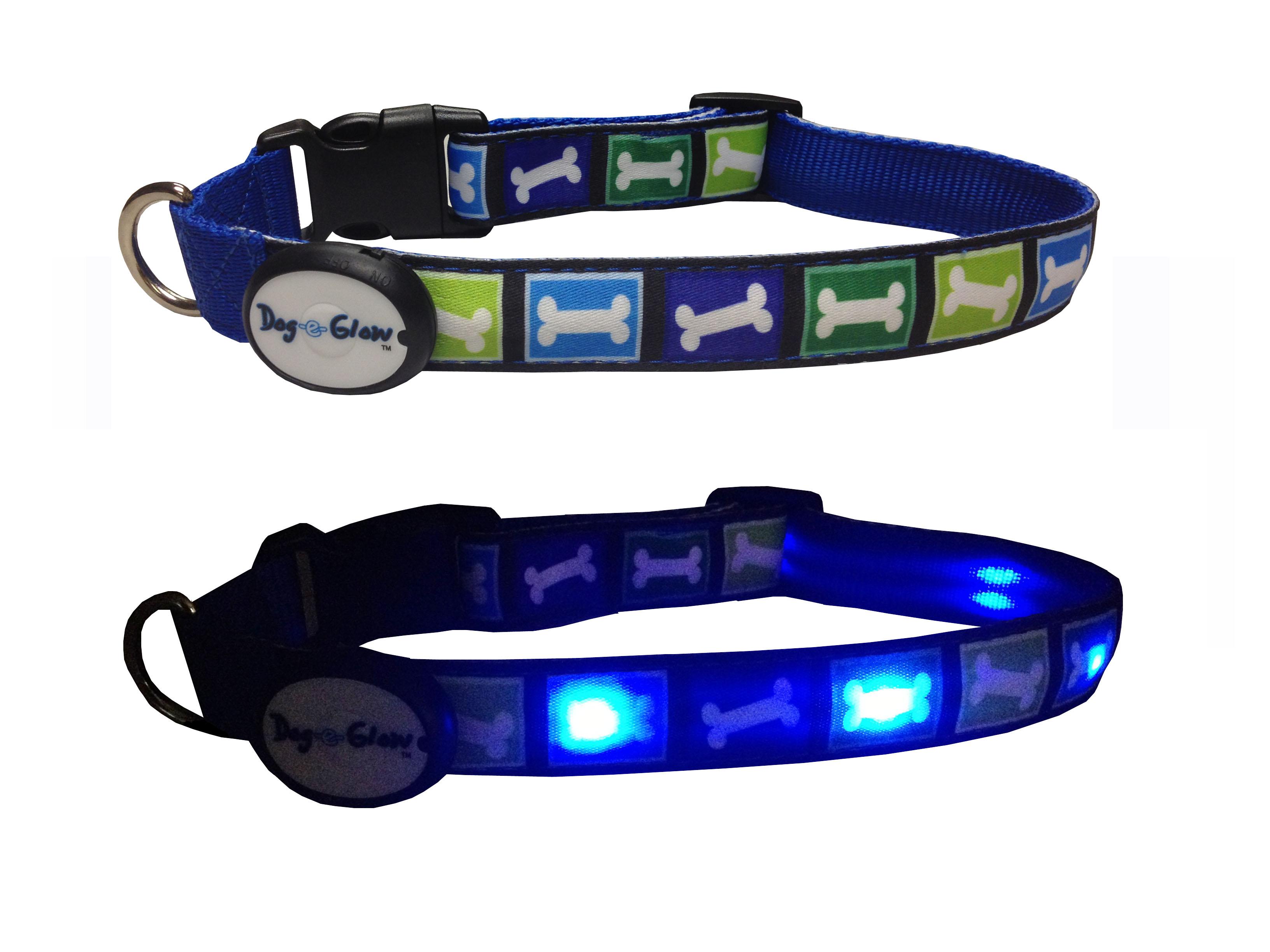 Dog-e Glow LED Collar & Leash