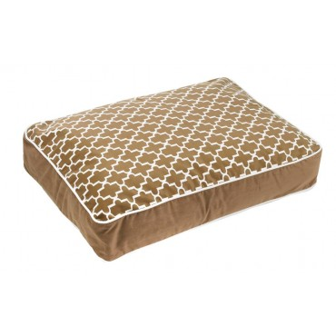 Bowsers Designer Dog Bed Large Cedar Lattice Thumbnail Image 1