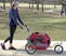 Solvit HoundAbout II Aluminum Pet Bicycle Trailer Stroller Conversion Kit Medium Thumbnail Image 1