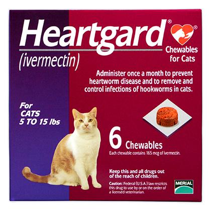 Cat Heartgard Chewables Cat Heartworm Preventative