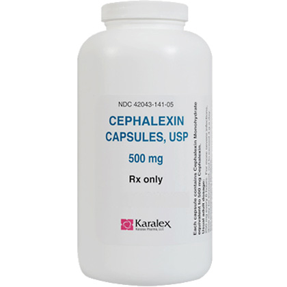 Cephalexin (Click for Larger Image)