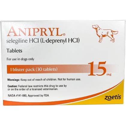 Anipryl (Selegiline) 15 mg 30 Tablet Pack