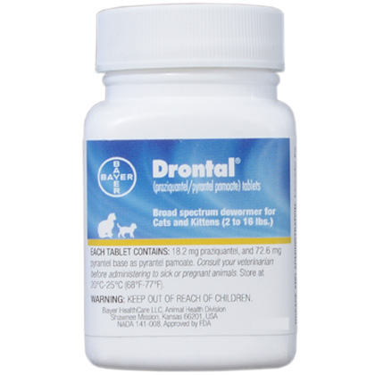 Drontal for Cats (Click for Larger Image)