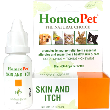 HomeoPet Skin and Itch (Click for Larger Image)