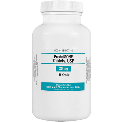 Image of Prednisone 20 mg (sold per tablet) by WEST-WARD