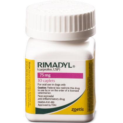 Rimadyl 75 mg Caplets 30 ct by PFIZER ANIMAL HEALTH